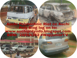 Auchi polytechnic is in fire, 3STUDENTS shot dead by security operatives