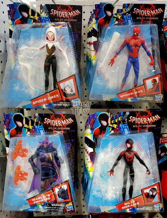 Spider Man Into The Spider Verse Toys In Singapore
