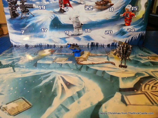 LEGO Star Wars advent calendar dec 3 backdrop
