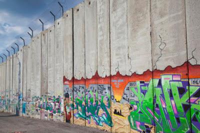 الجدار العازل بالضفة الغربية