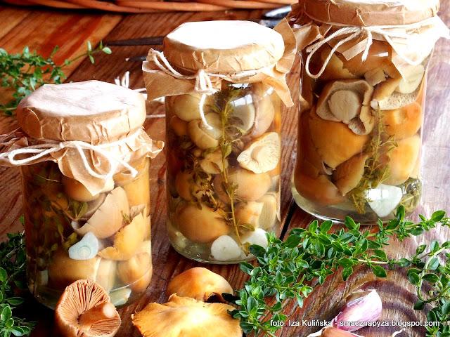niemki, turki, grzyby marynowane, przetwory, sloiki, zaprawa grzybowa, grzyby w occie, zalewa do grzybow, marynata do grzybow, zalewa octowa,