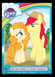 My Little Pony Bright Mac & Pear Butter Series 5 Trading Card