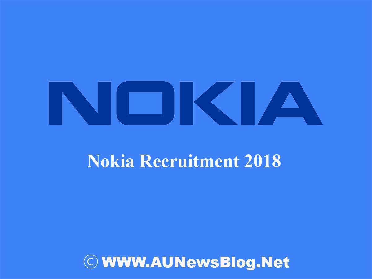 Nokia Company Direct Recruitment 2018 - Direct Apply Link