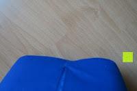 Kante: High Pulse Akupressur-Set - Akupressurmatte & Akupressurkissen für eine einfache und wirksame Behandlung von Schmerzen und Verspannungen am ganzen Körper. (Blau)