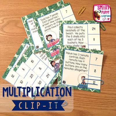 https://www.teacherspayteachers.com/Product/Multiplication-Word-Problems-Clip-It-Card-Game-for-Centers-2784657