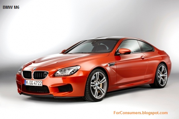 BMW M6 2013 official info and pics