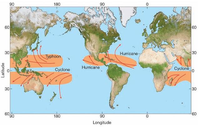 Proses terjadinya siklon tropis