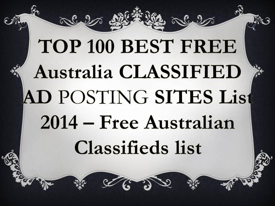 60+ Best Australian Classified site 2018, Top 100 Free