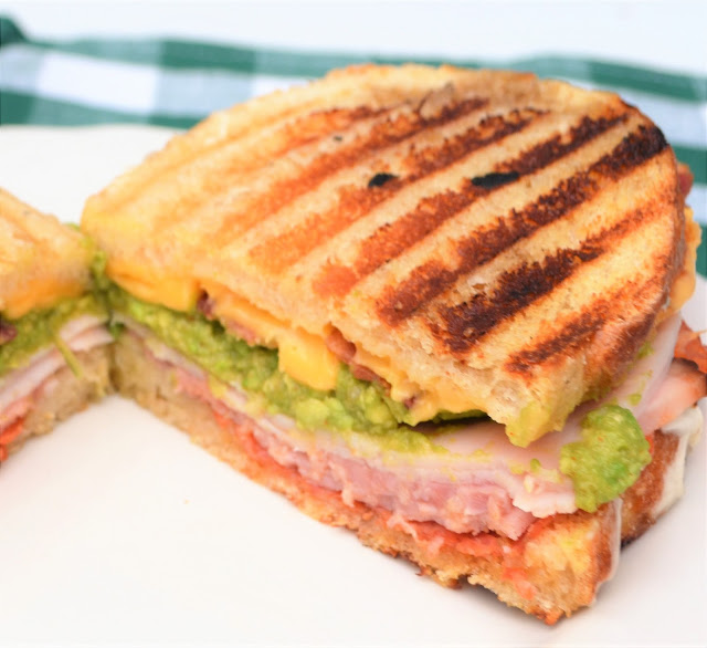 Turkey Bacon & Guacamole Panini