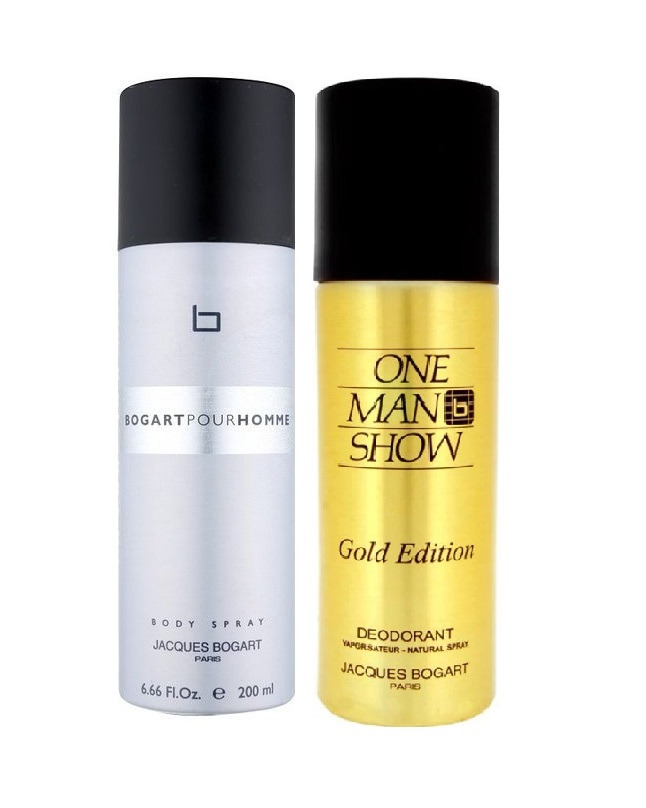 Pack Of 2 - Jacques Bogart And Gold Edition Body Spray 200 ml