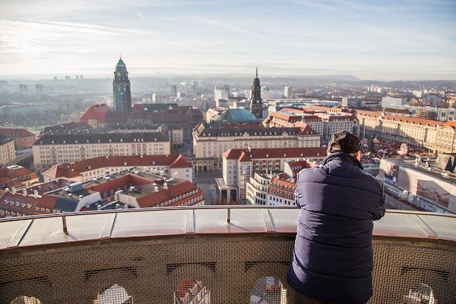 dresden skylline cityscape photograph photo pic saxony germany