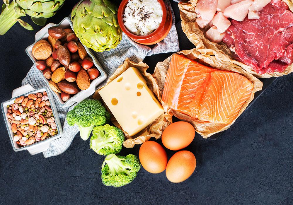 مصادر البروتين لبناء العضلات