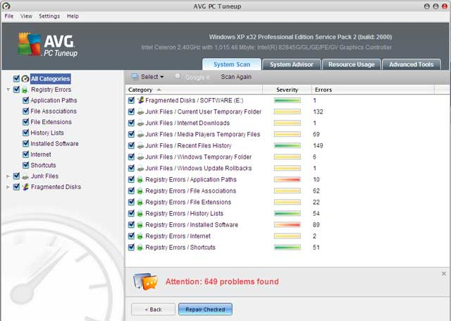 AVG PC Tuneup (v 10 0 02 with crack) ~ Articles World