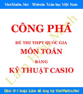 tai lieu cong pha de thi dai hoc cac nam bang may tinh cam tay casio