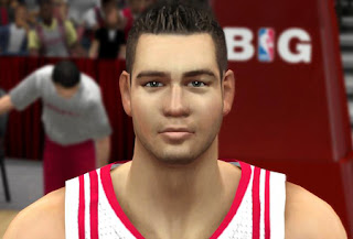 NBA 2K13 Donatas Motiejunas Cyberface Patches
