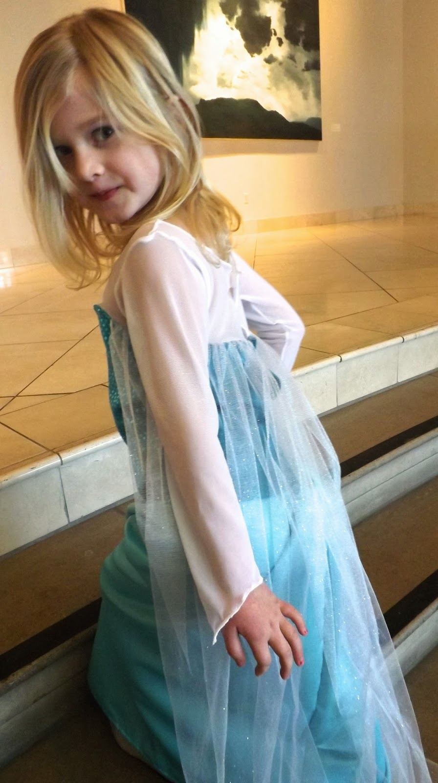 Elsa Ice Dress Preview