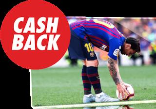 circus cashback 10 euros Tottenham vs Barcelona 3 octubre