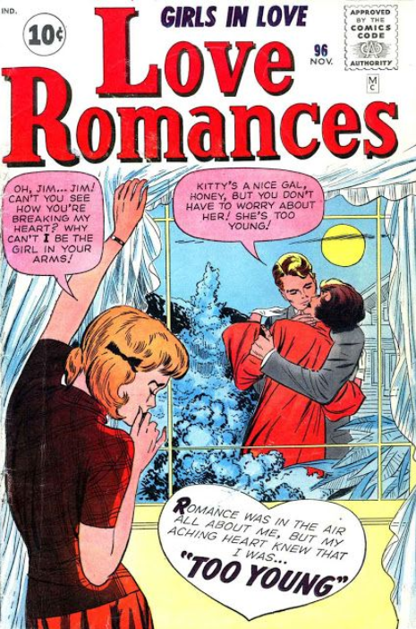 Kirby Romance Comics