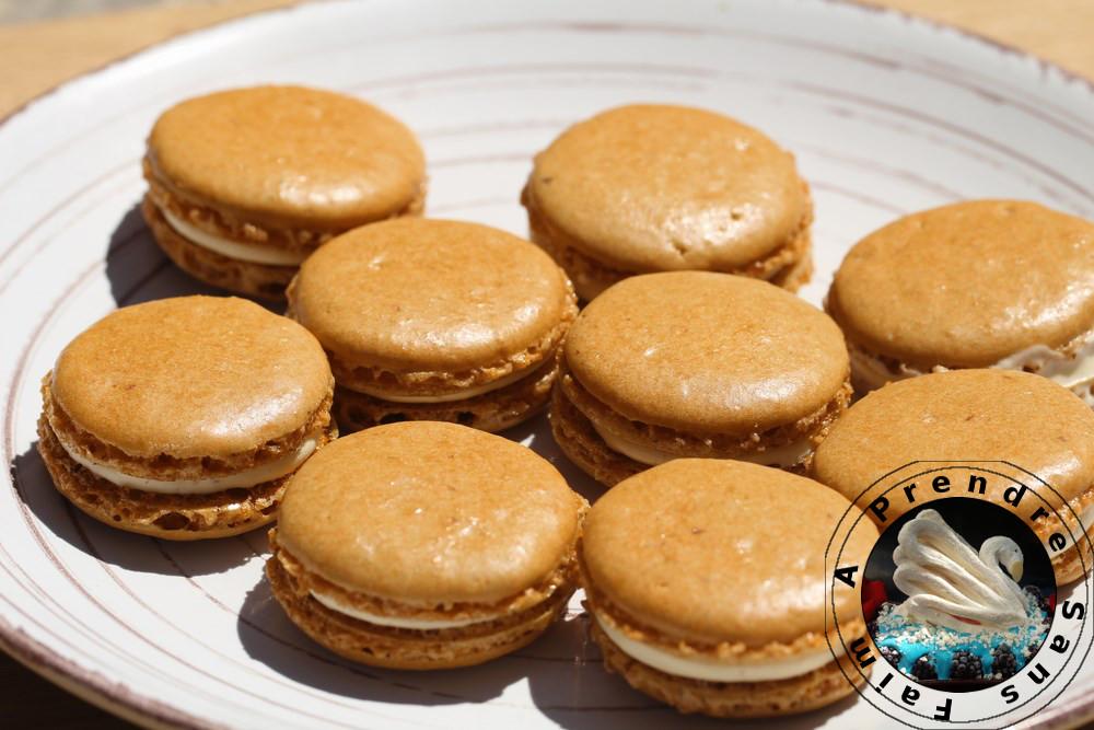 Macarons cacahuètes