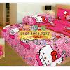 Sprei Hello Kitty Pink