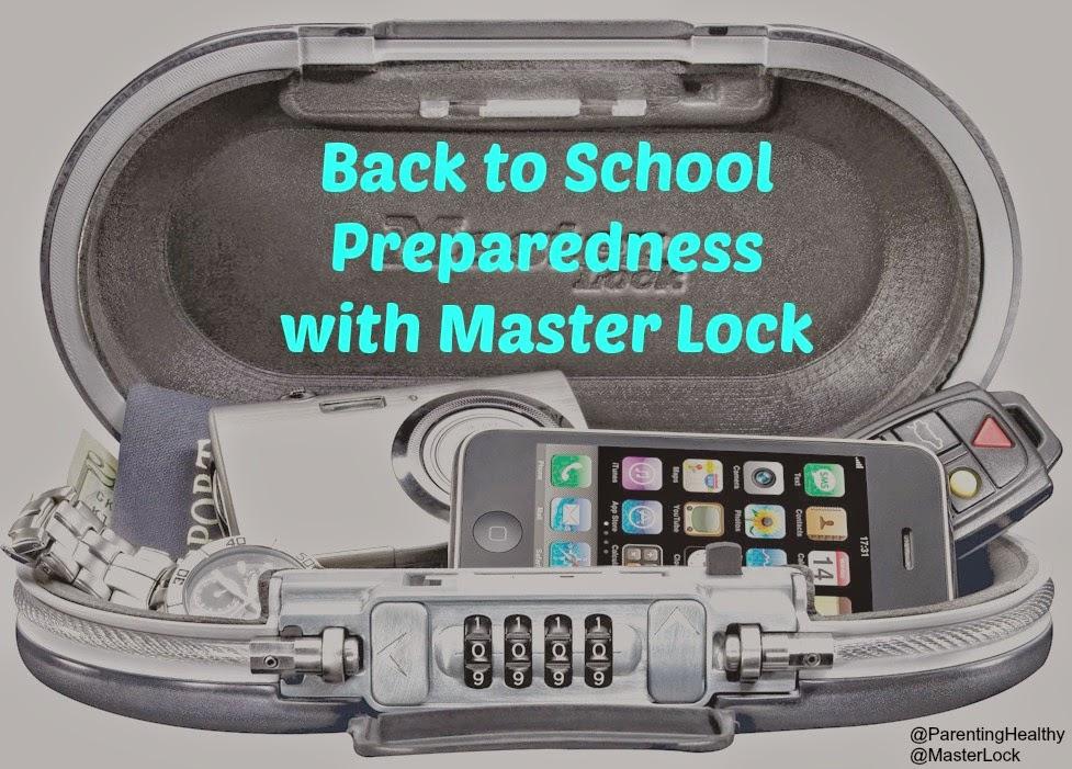 Back to School Preparedness with Master Lock