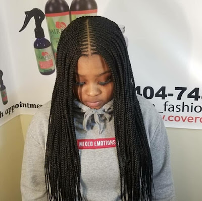 It is the season of wearing new bob box braids hairstyles 39 Cute Lemonade Bob Box Braids Ponytails With Cornrows