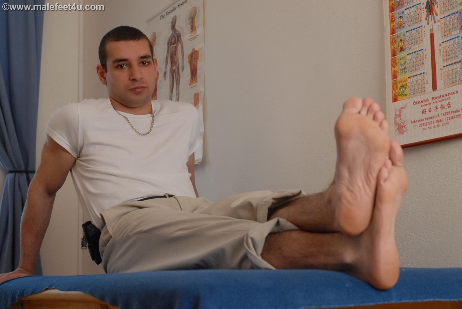 Czech Male Feet