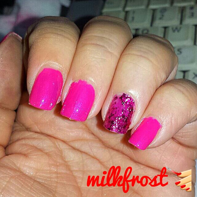 milkfrost's world: January's Nail colors