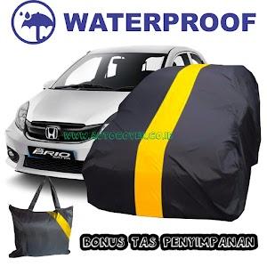 Cover Mobil Brio Corak Kuning