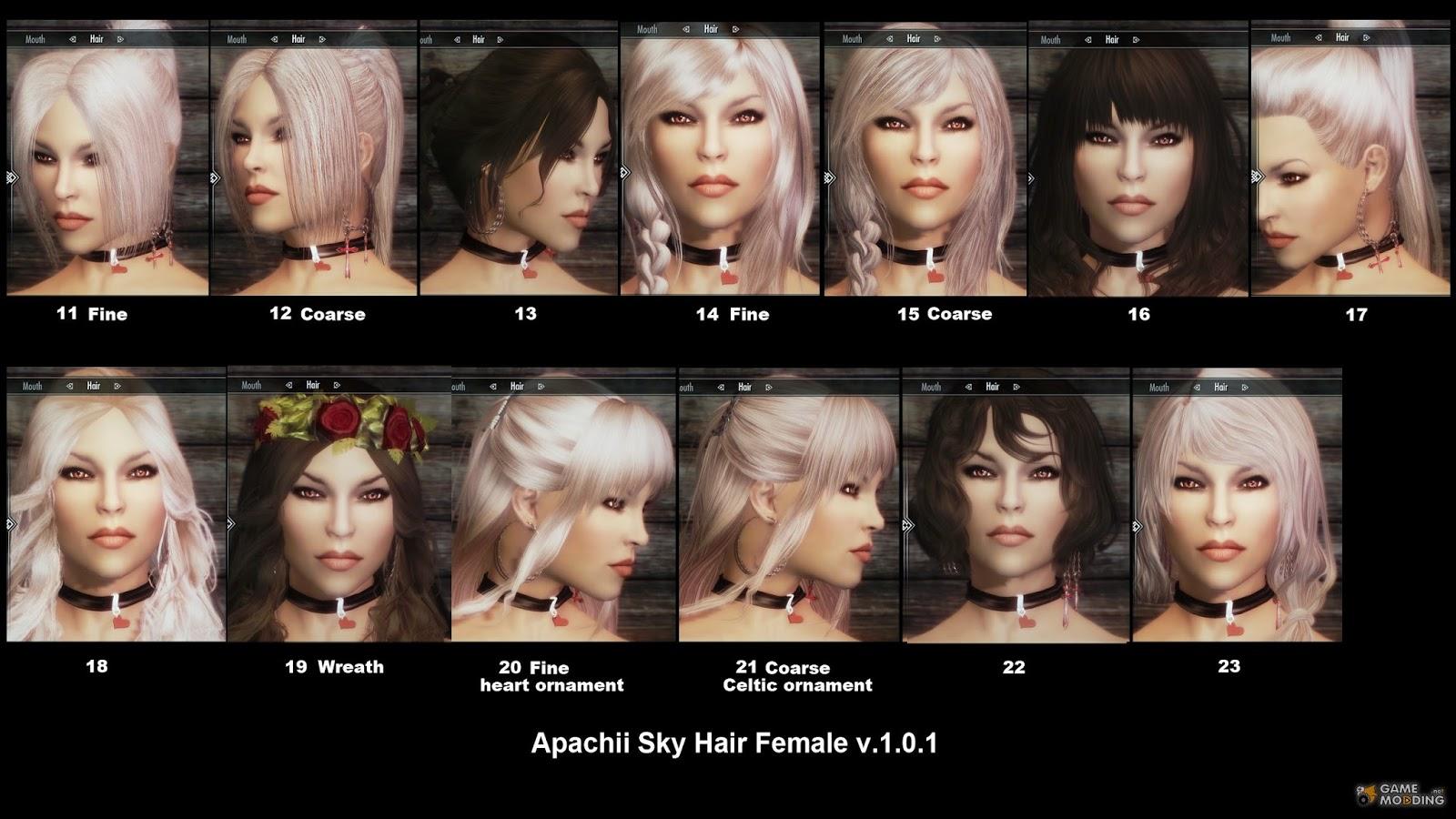 Skyrim apachii hair