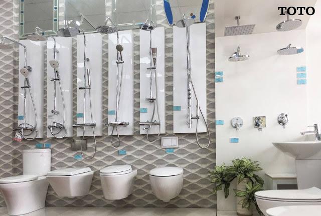 Cửa hàng kinh doanh thiết bị nhà tắm Toto 2019 giá cả thấp, chính hãng