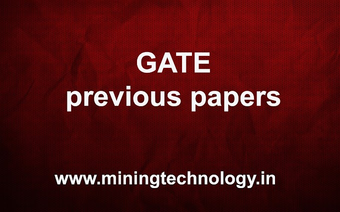 GATE PREVIOUS QUESTION PAPERS