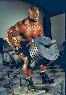 تمارين عضلات الظهر رونى كولمان بالصور