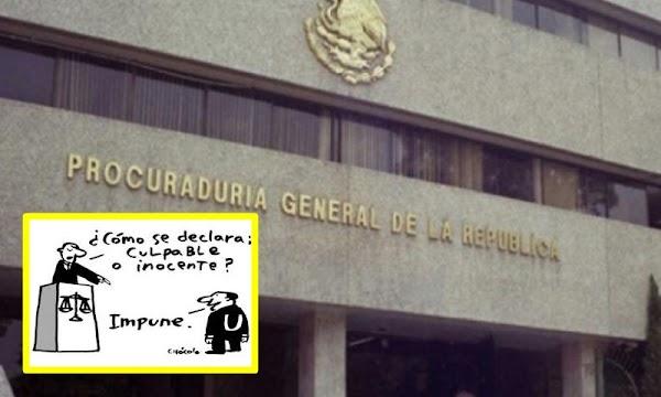 Nivel de impunidad inaudito, en 20 años, PGR sólo ha consignado 4 sentencias ante denuncias de la ASF