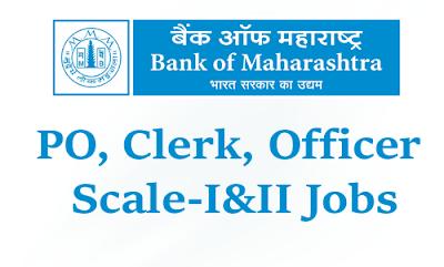 bank of maharashtra vacancy 2016 clerk po officer