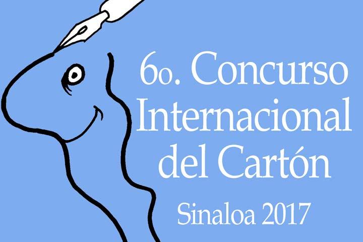 Convocatoria. 6º Concurso Internacional del Cartón (Sinaloa 2017)