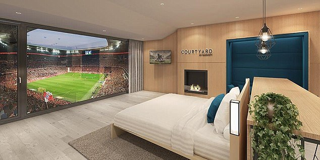 Bayern Munich will offer fans an experience to watch the game from a hotel suite