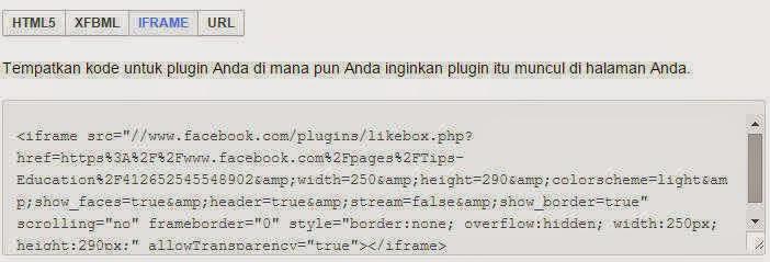 cara pasang fanspage facebook