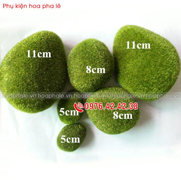 Rêu cục - Phụ kiện hoa pha lê