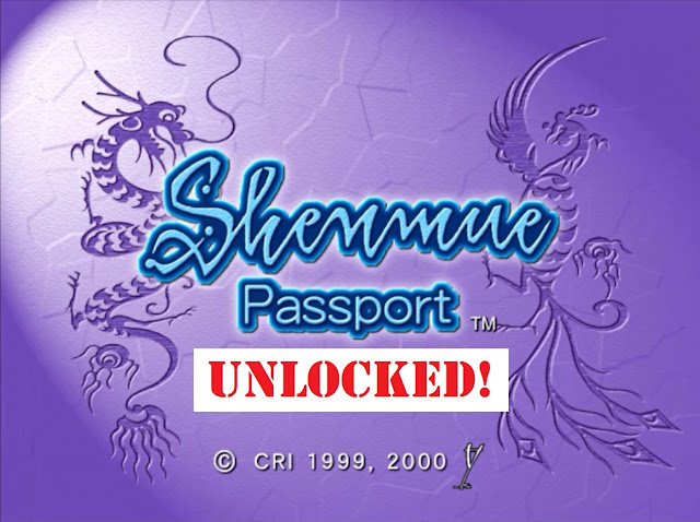 Shenmue Passport Unlocked