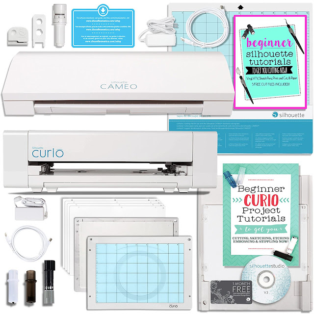 silhouette cameo machine bundle reviews, silhouette cameo 3 and curio bundle