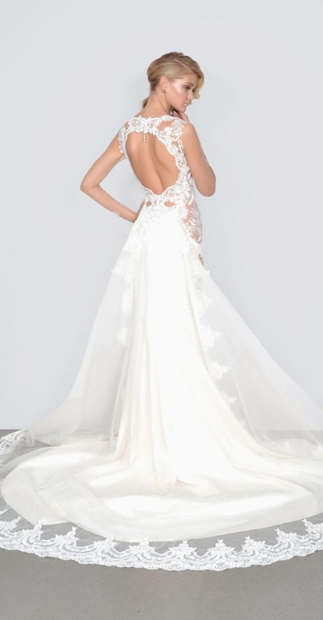 Galia Lahav Spring 2015 wedding dress