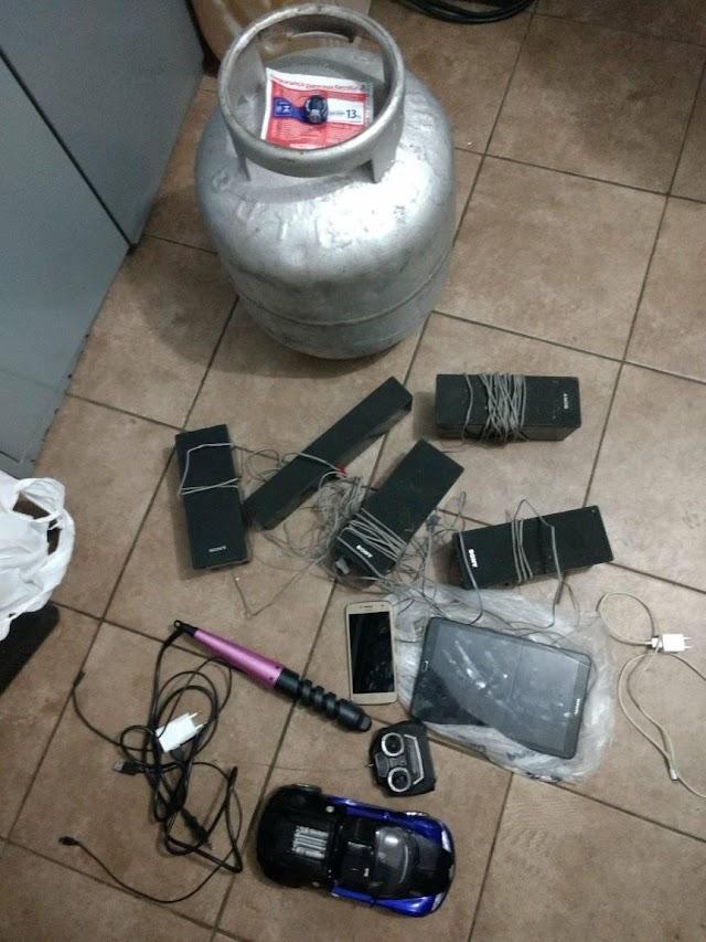 Polícia Civil recupera objetos furtados por menor