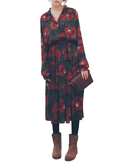 http://www.banggood.com/Retro-Floral-Chiffon-Lapel-Women-Printed-Maxi-Dress-With-Belt-p-1047378.html?utm_source=sns&utm_medium=redid&utm_campaign=naokawaii_10th&utm_content=chelsea
