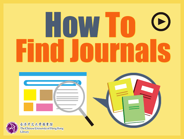 How to Find Journals