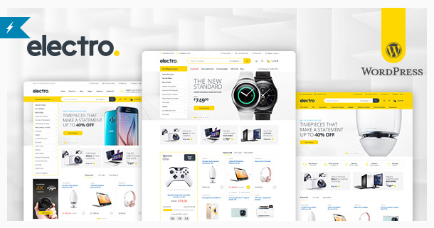 Electro Electronics Store WooCommerce Theme Download