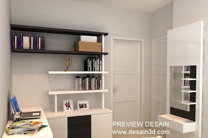 Jasa desain 3d renovasi kamar anak jaman now