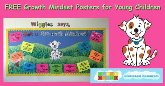 FREE Growth Mindset Posters for Young Children