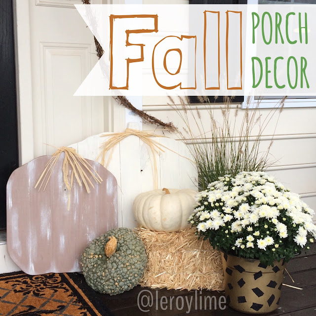 Fall Porch Decor LeroyLime