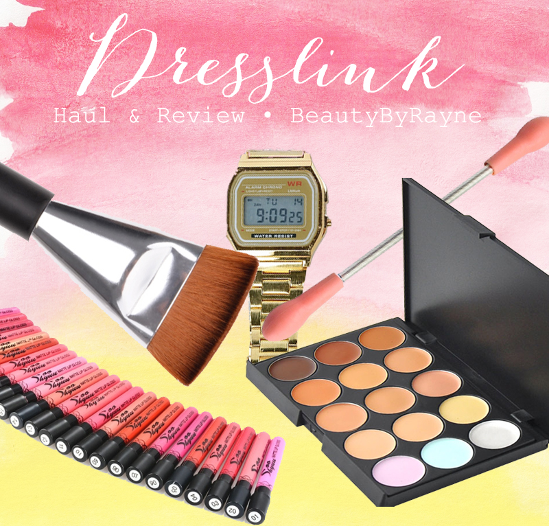 Dresslink beauty review and haul